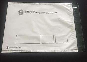 Envelope de segurança correios